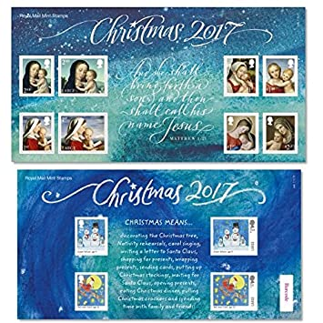 Christmas 2017 Stamps Presentation Pack