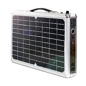 @NSS 300Wh AC出力300W 20Wソーラー付 ポータブル電源