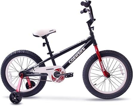 COEWSKE BMX Bicicletas para niños Deporte Bicicleta Nieve Grasa ...