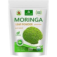 Moringa 250g polvo de hoja, oleifera PREMIUM PLUS