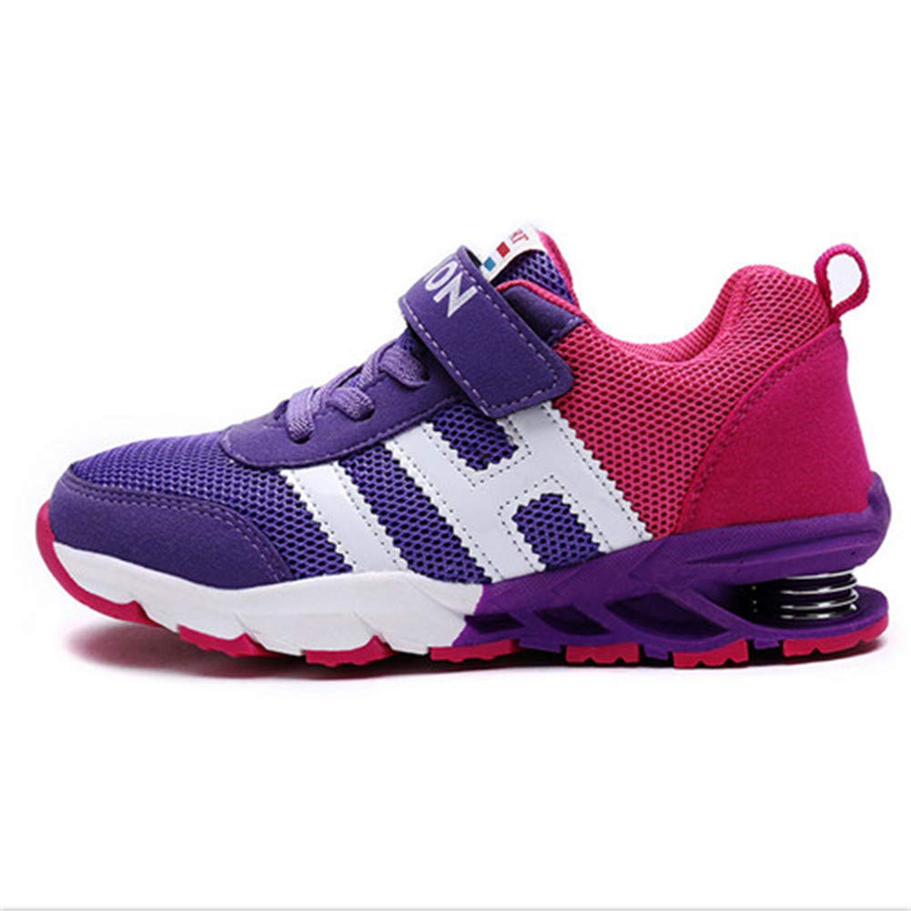 Sam Carle Children Sports Shoes Boys Girls Damping Outsole Slip Patchwork Breathable Running Shoes