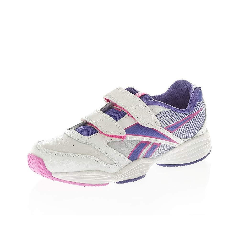 Reebok , Mädchen Tennisschuhe Weiß Weiß Rosa e lilla B0158U1DZM Tennisschuhe Haltbarkeit