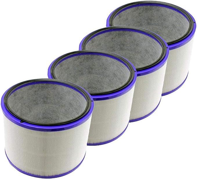 F Fityle 4 unds Filtros Purificadores de Aire Partes Reemplazables para Dyson HP02 Durable: Amazon.es: Hogar