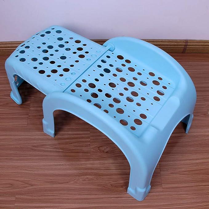Phenomenal Amazon Com Bycws Non Slip Folding Step Stool Kids Portable Ncnpc Chair Design For Home Ncnpcorg