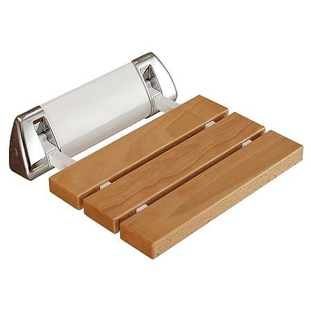 Bathroom Stools LI JING SHOP- Wall-mounted Stainless Steel Fold Bath ...