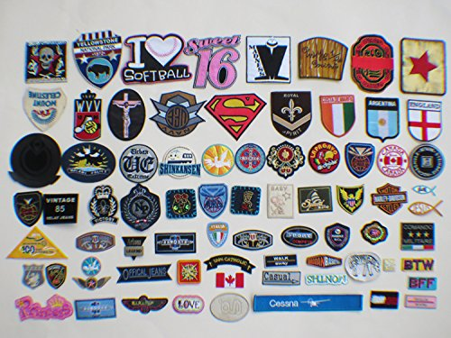30pcs-armbands-emblem-badge-heart-embroidery-patches-iron-on-appliquesrandom