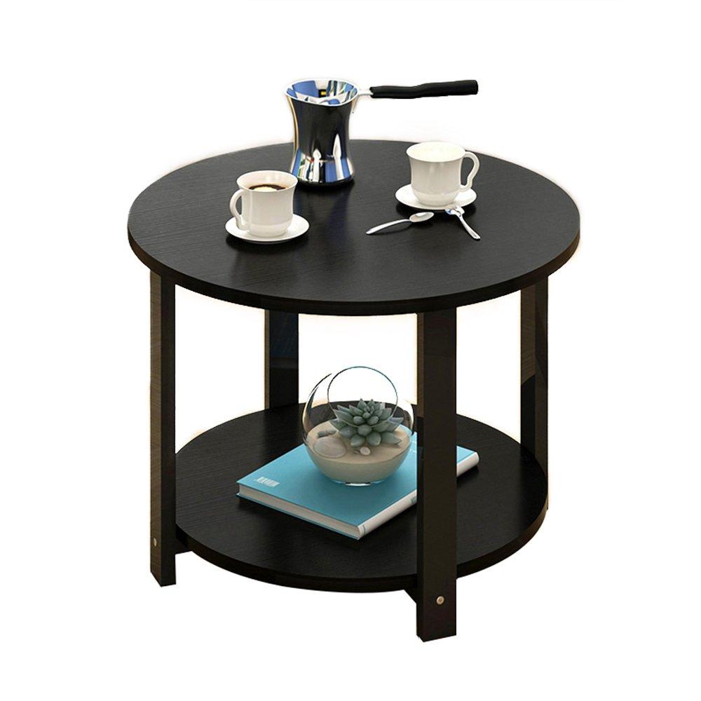 ナイトテーブル ベッドサイドテーブルコーヒーテーブルラウンドスモールラウンドテーブルサイドキャビネットサイドテーブル (色 : E) B07FBDQPJN E E