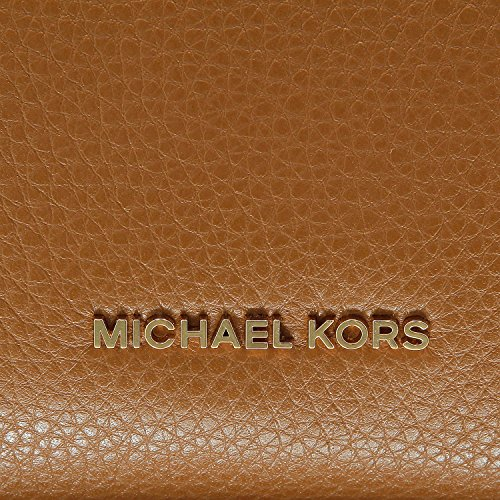 MICHAEL Michael Kors Raven Large Shoulder Tote (Luggage) by Michael Kors (Image #5)