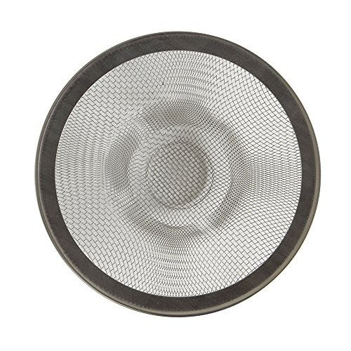 Mesh Sink Strainer, Prevents Sink Clogging From Food & Hair, Great for Stainless Steel Sinks, Set of 2 ()