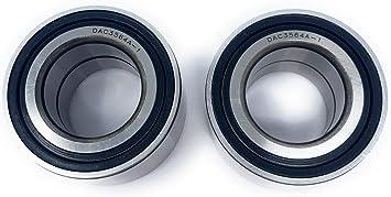 XP BOTH Front Wheel Bearings 6x6 10-16 Polaris Ranger 800 4x4 EFI//Crew