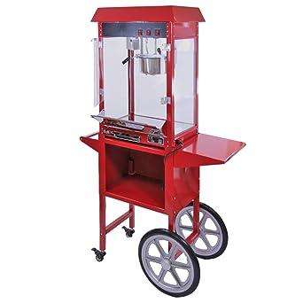 Máquina para Hacer Palomitas de Maíz Kukoo con Carrito