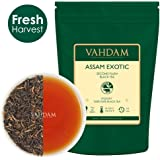 Assam Tea Leaves with Golden Tips, 100gm Set of 2,(100 Cups) - Strong, Malty & Rich - Exotic Assam Tea Loose Leaf - 100% Certified Pure Assam Black Tea - English Breakfast Tea