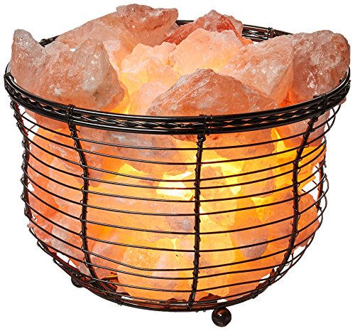WBM-Himalayan-Glow-Natural-Air-Purifying-Tall-round-basket-88-lbs-Night-Lamp-with-Salt-Chunks-Bulb-and-Brightness-Dimmable-Switch