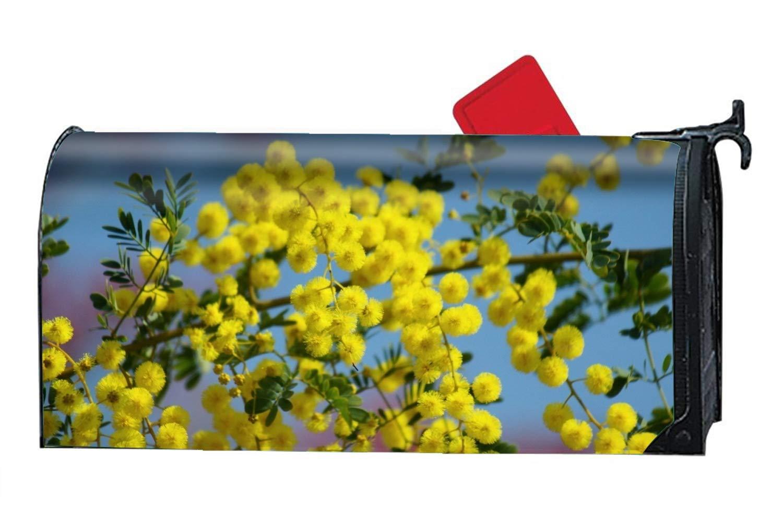 KSLIDS Earth Blossom Flowers Mailbox Makeover - Seasonal Magnetic Cover