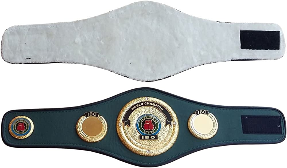 IBO WORLD CHAMPIONSHIP BOXING BELT REPLICA  WITH FREE BOX