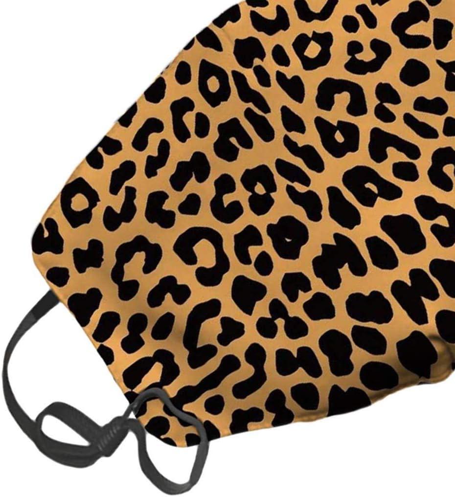 Waschbar /& Wiederverwendbar Nasen und Mund Schutz Jasinto Mundschutz f/ür Damen Herren Anti-Staub Schlauchschal Halstuch Nasenschutz Multifunktionstuch f/ür Radfahren Orange Leopard Drucken Laufen