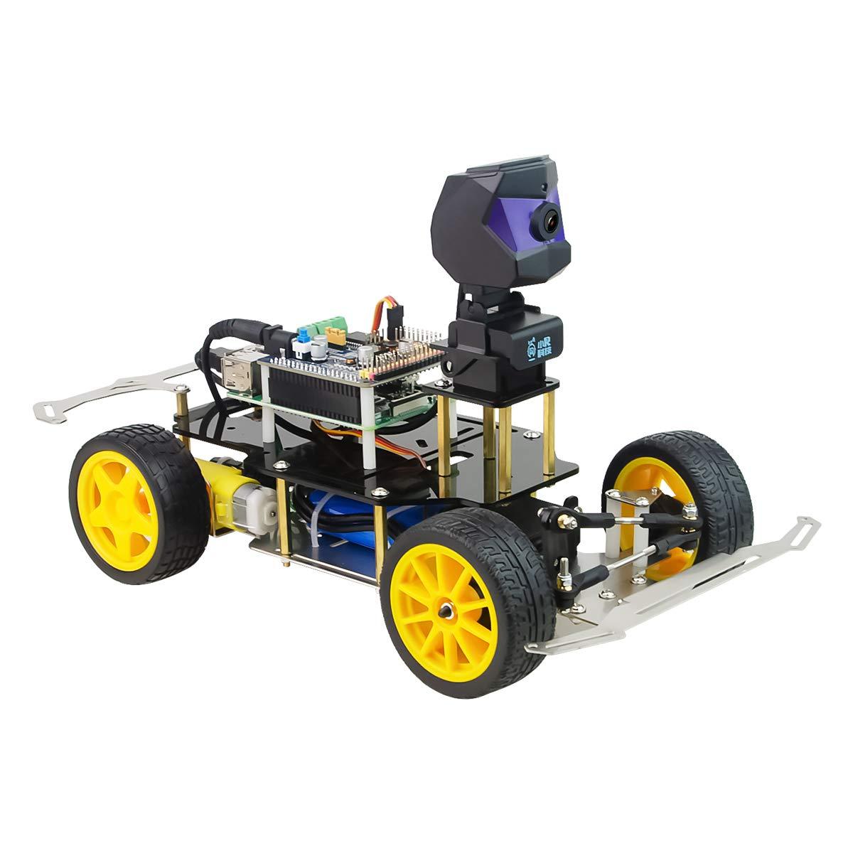 XiaoR Geek Donkey Car Starter Kit Opensource DIY Self Driving Platform for Small Scale Cars Raspberry Pi Robot Car
