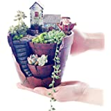 Hand-Painted Ceramic Meat Pot, Cacti and Succulents Planting Pot Plant Container Flower Pot Flowing Glaze Christmas Gift…