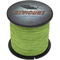 GEVICONT PE Braided Fishing Line for Outdoor Activities 4-Strands 100M/109Yards 300M/328Yards 500M/547Yards 1000M…