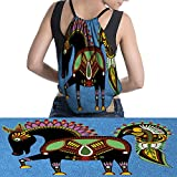 drawstring bag Horse Animal Figure Tradition easy to carry