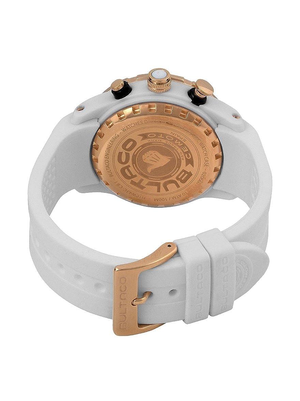 Bultaco Reloj analogico para Hombre de Miyota OS21 con Correa en Caucho H1PW43CCB1: Amazon.es: Relojes
