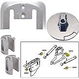 The Amazing Quality Tecnoseal Anode Kit w/Hardware - Mercury Bravo 2-3 - Magnesium
