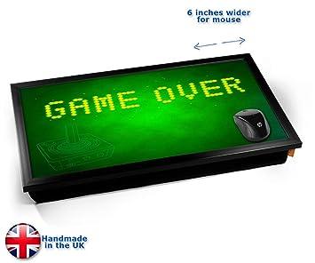GAME OVER Computer Laptop Tray Cojín Bandeja para Portátil ...