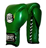 Cleto Reyes Training Gloves - Lace-up Green - 12oz