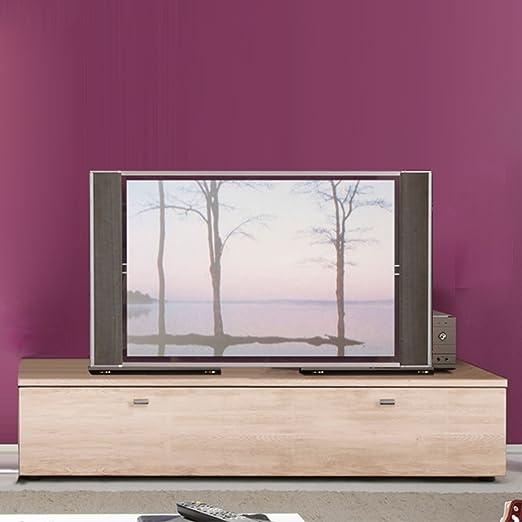 Möbel Akut TV LOWBOARD Tetis Roble San Remo TV Tarjeta con cajón ...