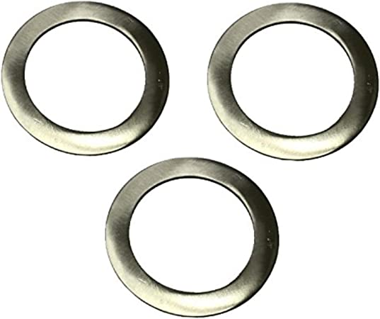 3 placas de acero inoxidable de ahorro de /Ø 7,0 cm de platos de esta/ño 0,25 litros