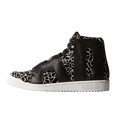 new arrival 43c32 69301 adidas Originals Jeremy Scott Letters Giraffe Shoes Black Size  9.5 UK