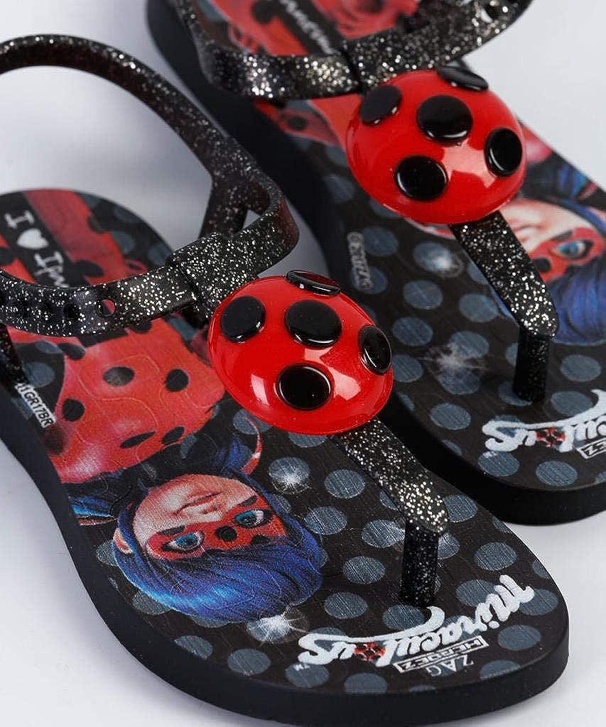 Ipanema Sandales Flip Flops en Gomme Ladybug Enfant 2628321513 Rouge