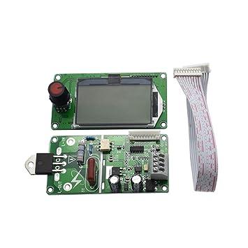 BESTOMZ Panel de Control de la Hora Actual Actual del Soldador Local del codificador Dual del Pulso Dual 40A: Amazon.es: Hogar