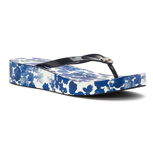 size 40 a69fe 34cbe Michael Kors Bedford Platform Flip Flop Sandalen