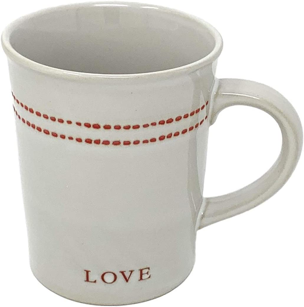 Hearth and Hand with Magnolia Heart and Love Mug, 12-Ounce
