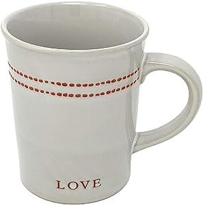 Hearth and Hand with Magnolia Heart and Love Mug, 12-Ounce