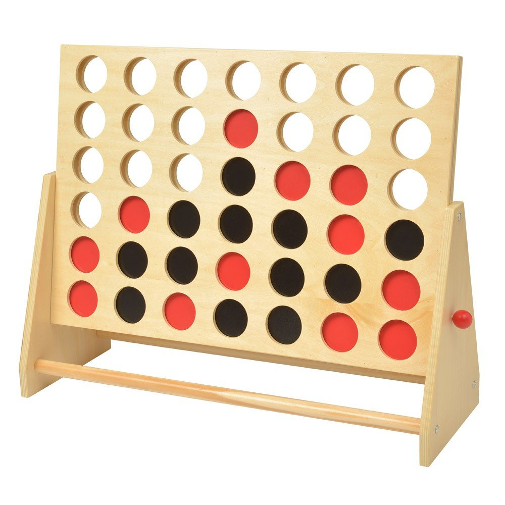 LE STUDIOWooden Game XXL 4 in A Row by LE STUDIO