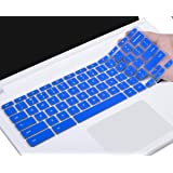 CaseBuy Ultra Thin Silicone Keyboard Protector Skin Cover for Acer Chromebook 14 CB3-431 CP5-471 14-inch Chromebook US Version(Blue)