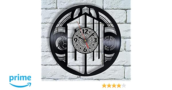 Doctor Who Tardis Silhouette Wall Clock