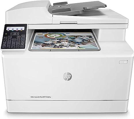 HP Color Laserjet Pro MFP M183FW Impresora Láser (8.5 x 14 ...