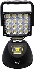 GOODGOODS LED 投光器 48W 充電式 ポータブル作業灯 USBポート付き マグネット付き 4モード アウトドア 防災グッズ 【一年保証】 YC-48K