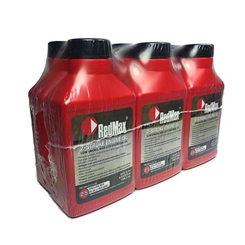 RedMax OEM MaxLife 2-Cycle Oil, 6.4 oz. (Pack of 6)