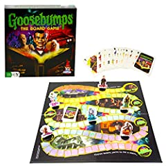 """Beware, you're in for a """"scare"""" with Outset's Goosebumps: The Board Game! Great for Family game Nights - includes some """"thrilling"""" fun! All of R.L. Stine's monsters have escaped from his manuscripts and are roaming the streets of Madison. Non..."""