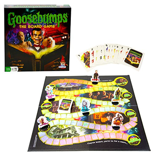 Goosebumps Movie Game - Thrilling Family Board Game - Battle Each Other In A Frantic Race To The Typewriter/End (Ages 8+) -