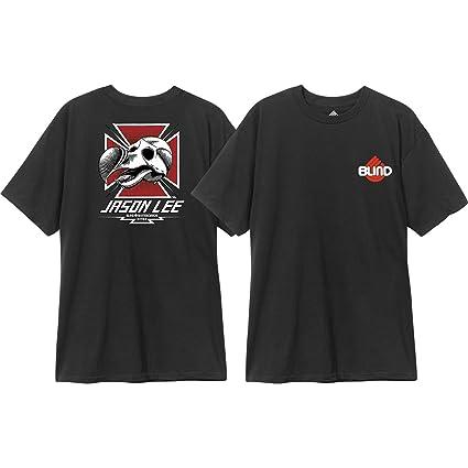 c34d46396443 Amazon.com: Blind Skateboards Jason Lee Dodo Skull Black Men's Short ...