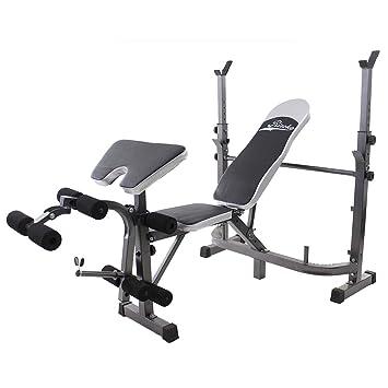 Banco de musculación multifunción, Banco de Pesas Fitness: Amazon.es: Deportes y aire libre