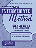 Rubank Intermediate Method - French Horn in F or E-flat (Rubank Educational Library)
