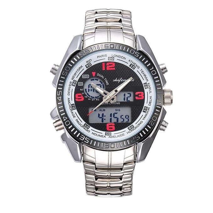 Rcool Relojes suizos relojes de lujo Relojes de pulsera Relojes para mujer Relojes para hombre Relojes deportivos,Reloj deportivo multifuncional ...