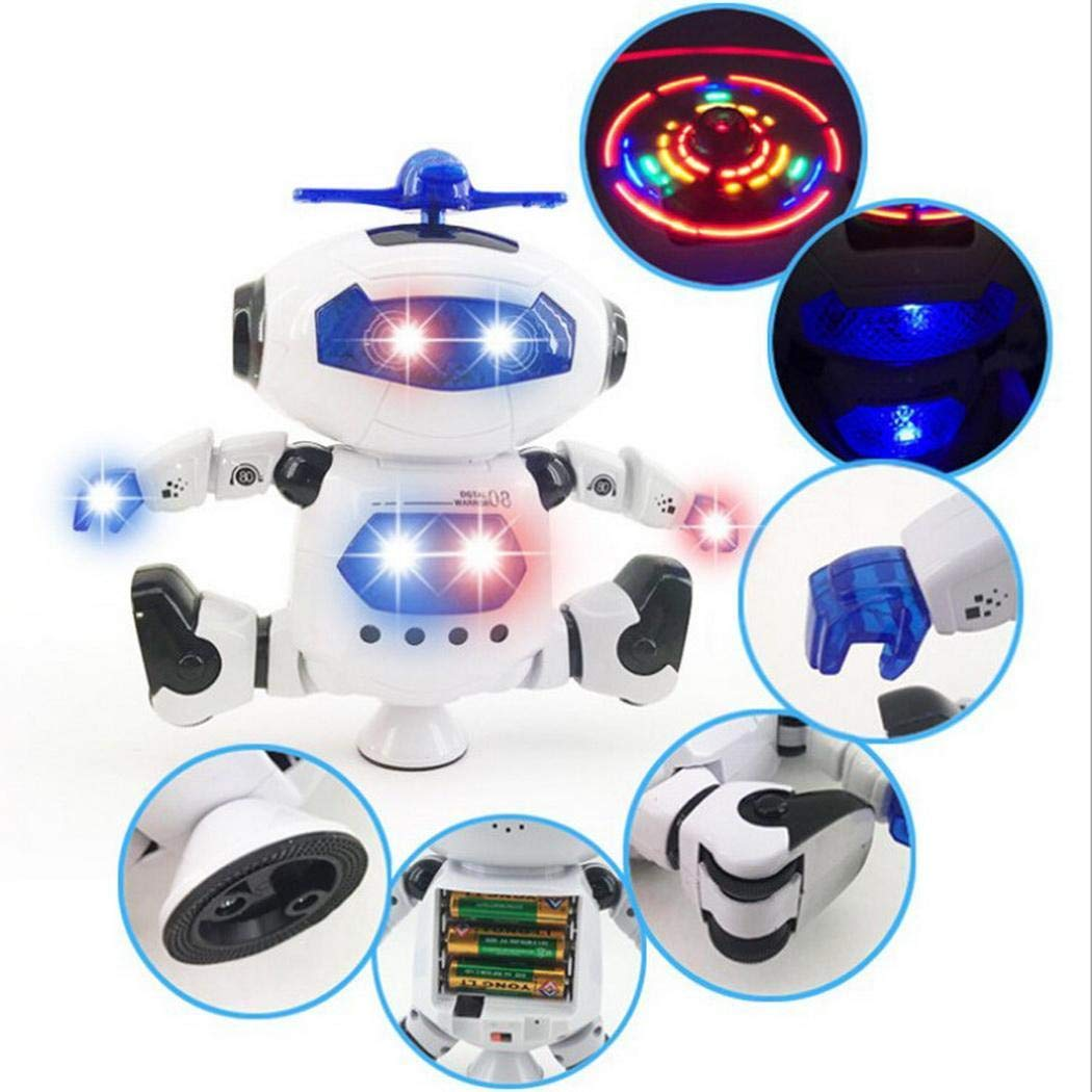 Legros8 Toddler Smart Robot Dance Music Toy Intelligent Kids Education Toys Remote /& App-Controlled Figures /& Robots