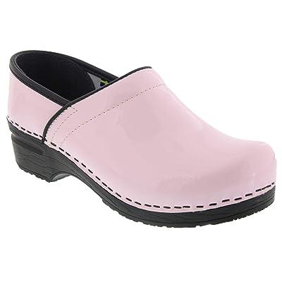 Bjork Professional ELSA Pastel Pink Patent Leather Clogs | Mules & Clogs